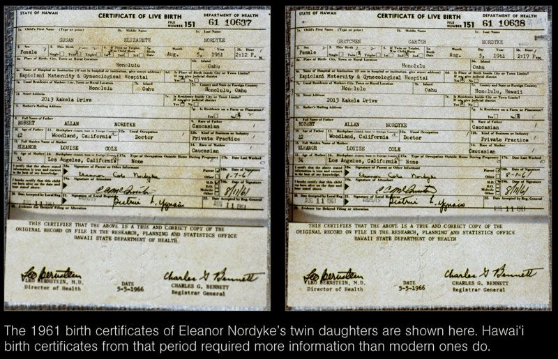 The Real Truth About Obamas Certificate Of Live Birth H2ooflife