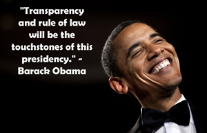 OBAMA transparency - small